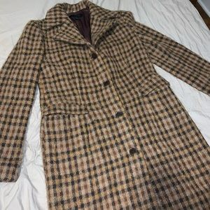 The Limited Wool Trench Coat